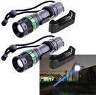 UltraFire Cree XM-L T6 2,000-Lumen LED Flashlight 2-Pack
