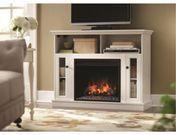 "Home Decorators 46"" Media Console / Electric Fireplace"