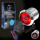 Car LED Push Start 12-volt Button