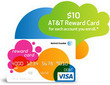 AT&T - Free $10 Visa Card For Each Account You Enroll in Paperless Billing / AutoPay