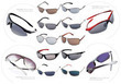 Nine Pairs of Men's Sunglasses