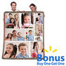 Buy One Get One Free Personalized Collage Woven Throw