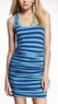 Women's Ruched Scoop-Neck Dress