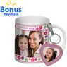 Mother's Day Floral Mom Photo Mug