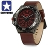 Converse Foxtrot Collection Black IP Stainless Steel Watch