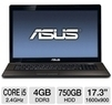 Asus 17.3 Laptop with 2.4GHz Core i5 CPU
