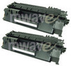 HP CE505A Compatible Toner Cartridge 2-Pack