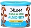 Two Nice! Natural Raw Almonds