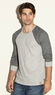 Men's Corey Heathered Raglan Shirt