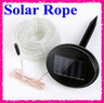Solar Power 50 White LED 17-foot Rope Light