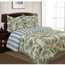 Divatex Home Fashions Waterflowers Twin Comforter Mini Set