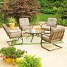 Mainstays Lawson Ridge 5 Piece Outdoor Conversation Set