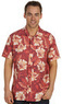 Lucky Brand Dale Hope Volcanic Floral Men's Shirt