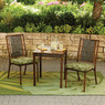 Hometrends Tropical Palm 3-Piece Outdoor Bistro Set