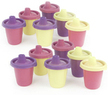 Ziploc Spill Proof Lightweight Sippy Cups 12-Pack