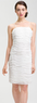 Calvin Klein Ruffle Mesh Sheath Dress