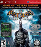 Batman: Arkham Asylum 3D (PS3 / Xbox 360)
