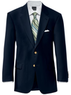 Two Men's Signature 2-Button Wool Blazers