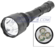 Cree T6 Torch 5-Mode Convex Lens White LED Flashlight