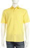 Neiman Marcus Men's Linen-Blend Short-Sleeve Shirt