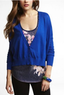 Women's Boxy Cotton Cardigan