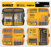 Dewalt 100pc Black Oxide Metal Twist Drill Bit Set