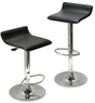 Winsome Wood Air Lift Adjustable Stools (Set of 2)