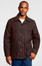 Men's Regular Sportsman Oilcloth Jacket
