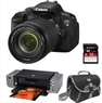 Canon EOS Rebel T4i DSLR Camera w/ 18-135mm STM Lens Bundle