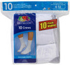 Fruit of the Loom Men's Crew Socks (10-Pack)