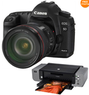 Canon EOS 5D Mark II 21.1MP Digital SLR Camera Bundle