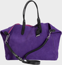 Women's Crosby Suede Shopper Handbag