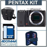 Pentax K-01 16MP Digital SLR Camera Body Bundle