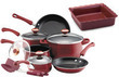 Paula Deen 12-Pc. Porcelain Cookware Set w/ Baking Dish