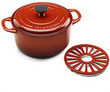 Tramontina Cast Iron 5.5-Quart Dutch Oven with Trivet