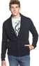 Kenneth Cole Reaction Long Sleeve Shawl Cardigan