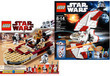 Lego Star Wars Luke's Landspeeder and Star T-6 Jedi Shuttle