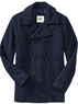 Men's Wool-Blend Peacoat