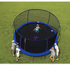 BouncePro 14' Trampoline &Enclosure w/ Spinner Flash Litez