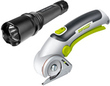 Rockwell Lithium ZipSnip Cordless Cutter + Flashlight Combo