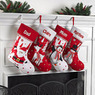 Personalized Candy Cane Christmas Character Stocking