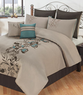 Ophillia Bed in a Bag 8 Piece Comforter Sets