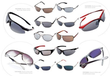 9 Pairs of Mens or Womens Branded Sunglasses