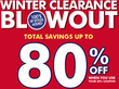 The Children's Place - Winter Clearance Blowout Sale - Up to 80% Off + Free Shipping