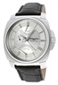 Jorg Gray Dual Time Silver Dial Black Genuine Mens Watch