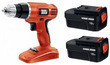 Black & Decker 18V Cordless Drill with 2 Batteries (Refurb)