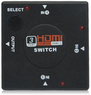 3-Way HDMI Splitter Amplifier Switch HDTV