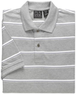 Men's Traveler Striped Short Sleeve Polo