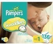 2 Pampers Diaper Packs with $20 Target Gift Card