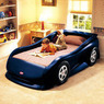 Little Tikes Sports Car Twin Bed, Medium Blue